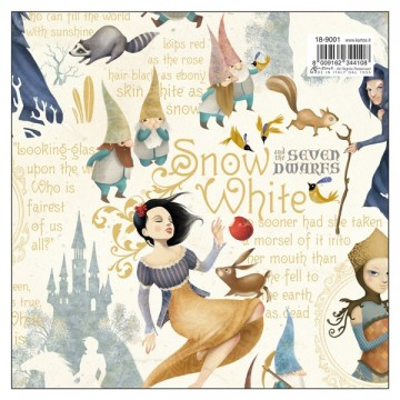 Papel Blancanieves efecto gold