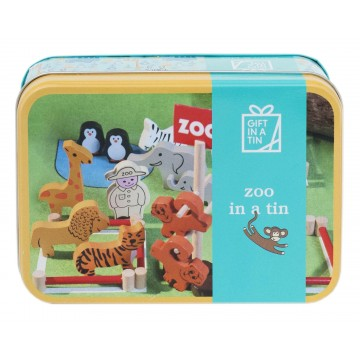 "GIFT IN A TIN"" ZOO"""