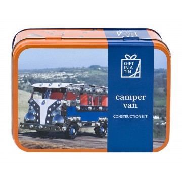 "GIFT IN A TIN "" CAMPER VAN"""