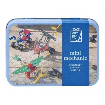 "GIFT IN A TIN "" MINI MECÁNICS"""